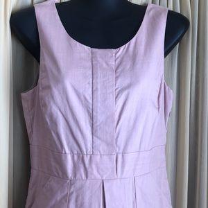 J. Crew Dress Blush Sleeveless 4 Petite Small